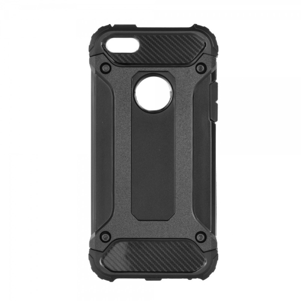 SENSO ARMOR IPHONE 5 5s SE black backcover | cooee.gr1