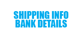 Shipping Info - Bank Details