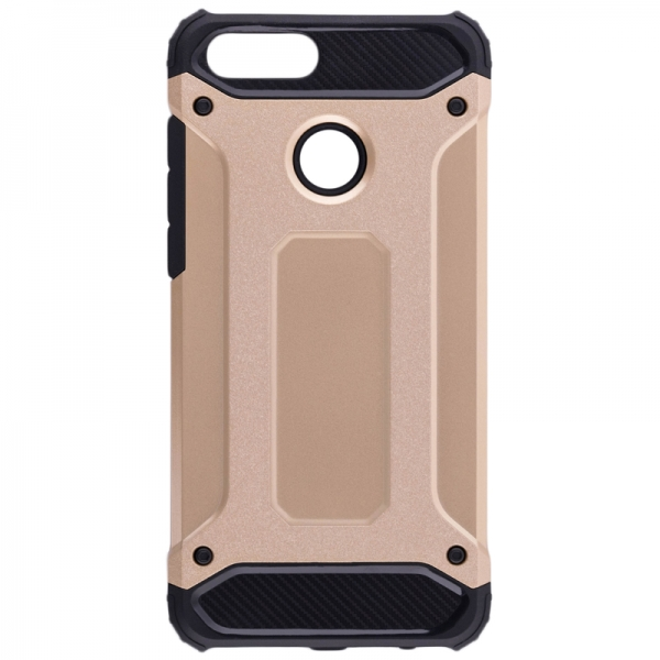 SENSO ARMOR HUAWEI Y7 PRIME 2018 / HONOR 7C gold backcover | cooee.gr