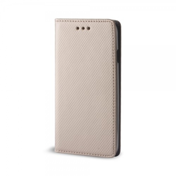 SENSO BOOK MAGNET HUAWEI P SMART 2019 / HONOR 10 LITE gold | cooee.gr