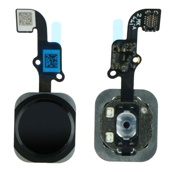 FLEX IPHONE 6 / 6 PLUS  HOME BUTTON FLEX CABLE black *no finger print SENSOR function | cooee.gr